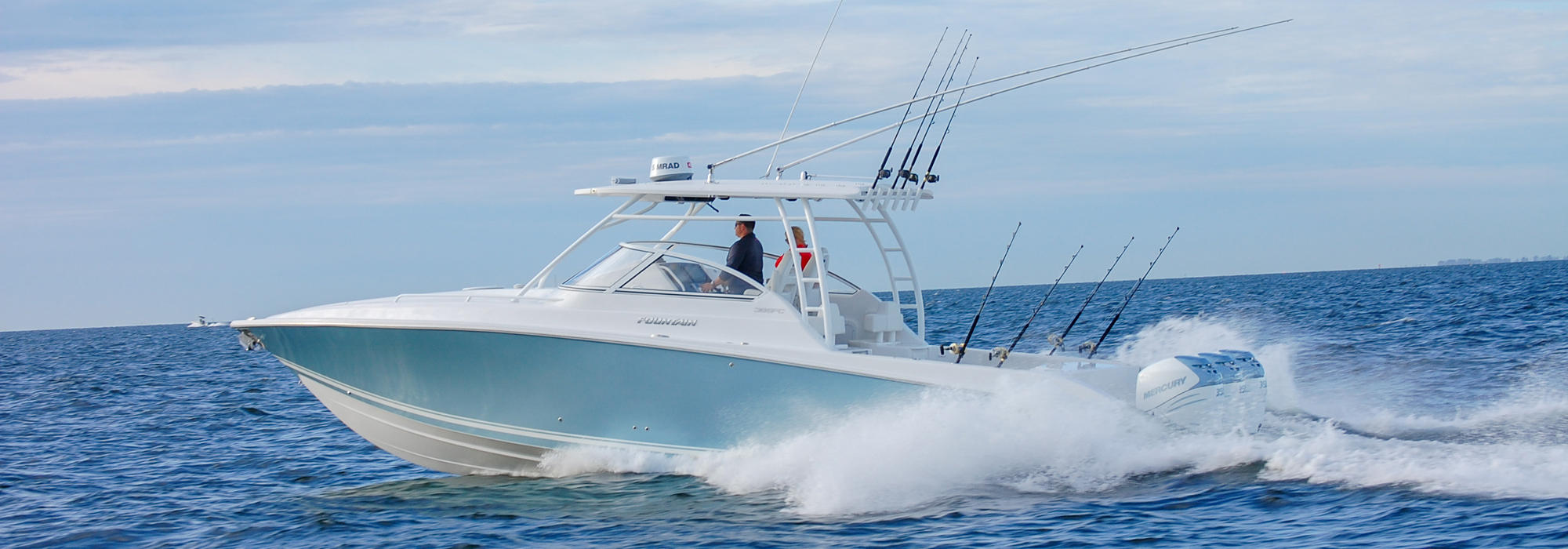 Fountain 38 SFC Sportfish Cruiser